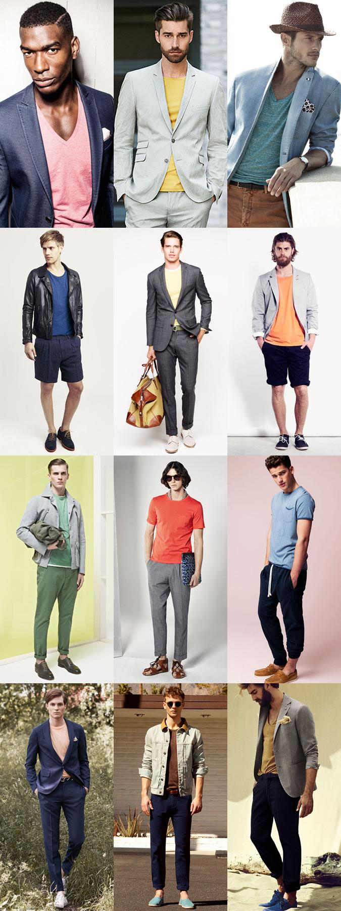 تی شرت قرمز مردانه ، تی شرت آبی مردانه ، تی شرت صورتی مردانه ، تی شرت نارنجی مردانه