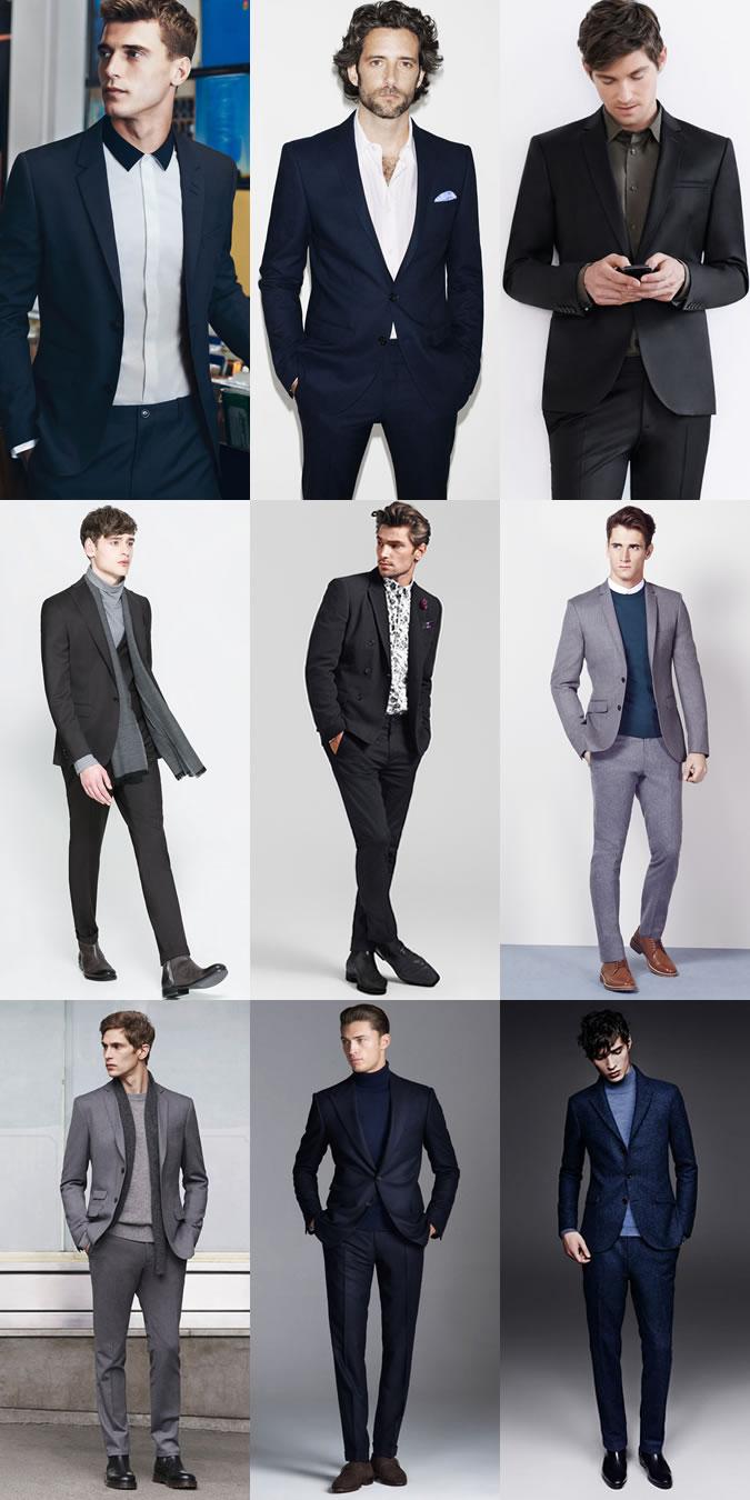لباس های مردانه با کت