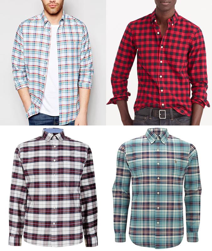 پیراهن های آکسفورد مردانه