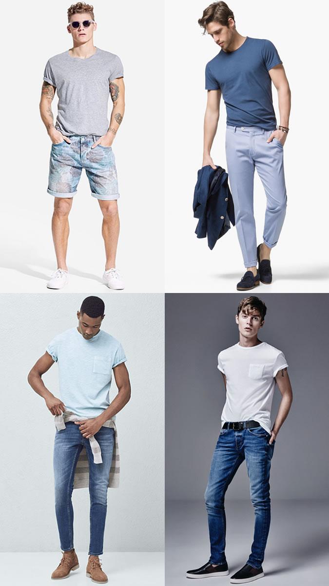 تی شرت پنبه مردانه