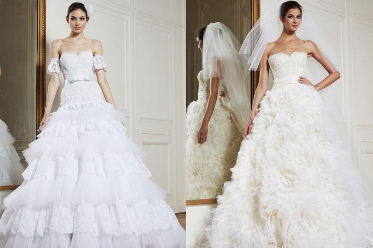 کالکشن لباس عروس 2013 زهیر مراد