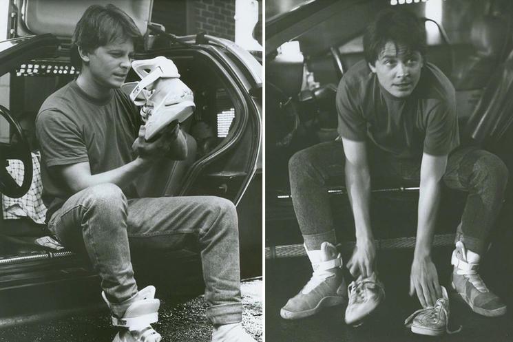 مارتی مک فلای با کفش نایک مگ