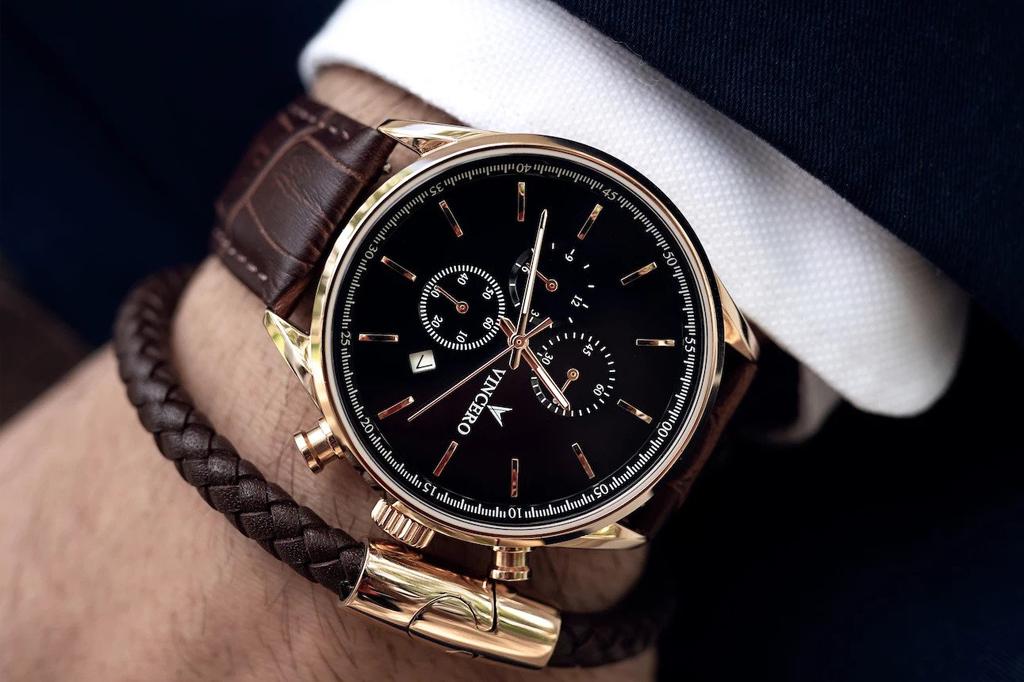 ساعت میتواند جذابترین اکسسوری مردانه میباشد