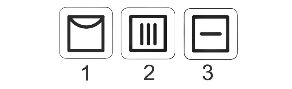 نمادهای خشک کردن طبیعی